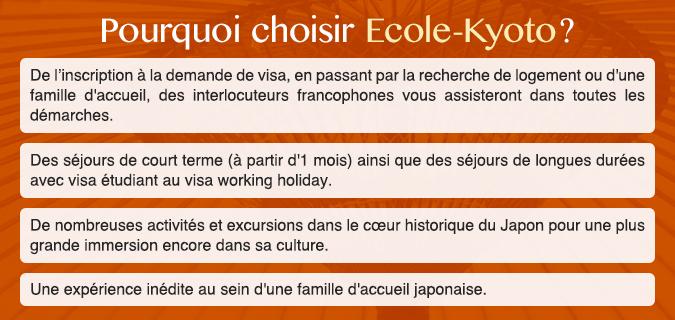 Bien-aimé Cours de japonais dans une école de langue à Kyoto : Ecole-Kyoto SN46
